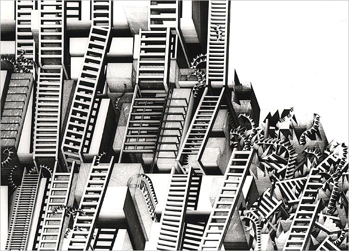 Deanna Petherbridge   The City as Imago Mundi   1976 - 1978